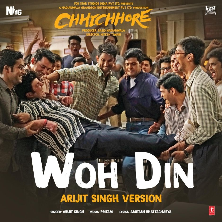 Woh Din Arijit Singh Version From Chhichhore Single By Arijit Singh P Ad Version Singh Chhich Mp3 Song Download New Song Download Mp3 Song