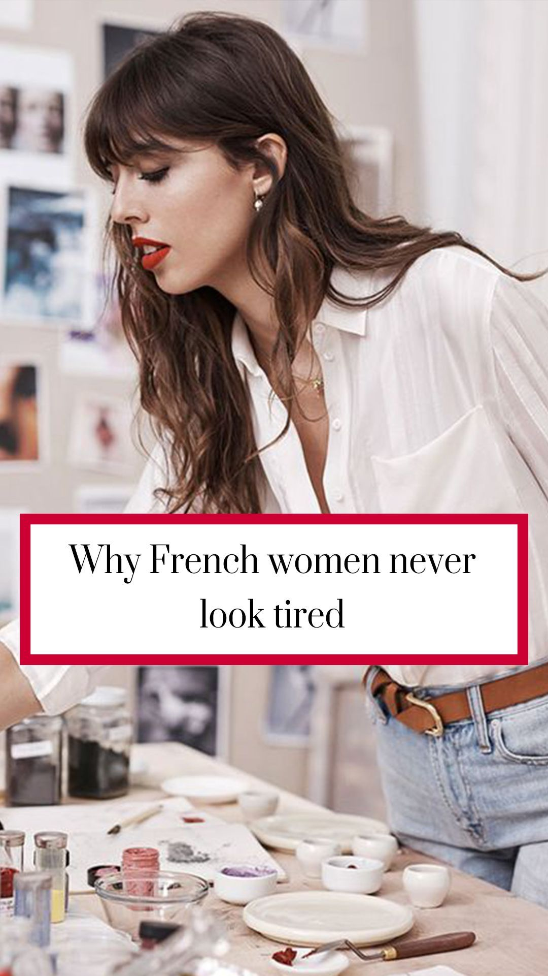 Why French women don't look tired is part of French women - Top makeup artist, Violette, shares her Parisienne beauty tricks with Annabel Meggeson, plus more beauty news and advice from RedOnline co uk