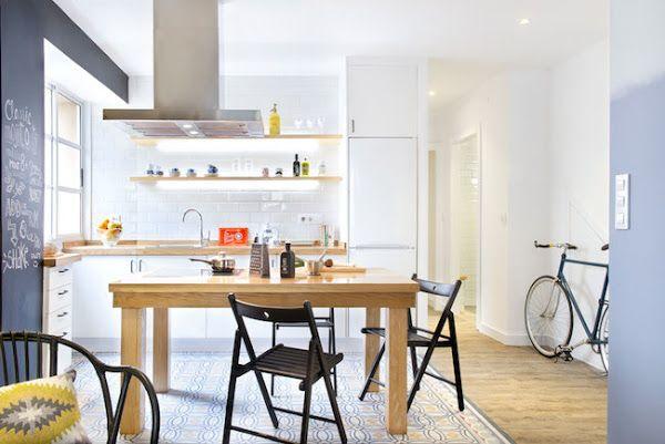 Una Casa De Diseño Para Disfrutar Piso De Alquiler Interior De Cocina Cocinas De Casa