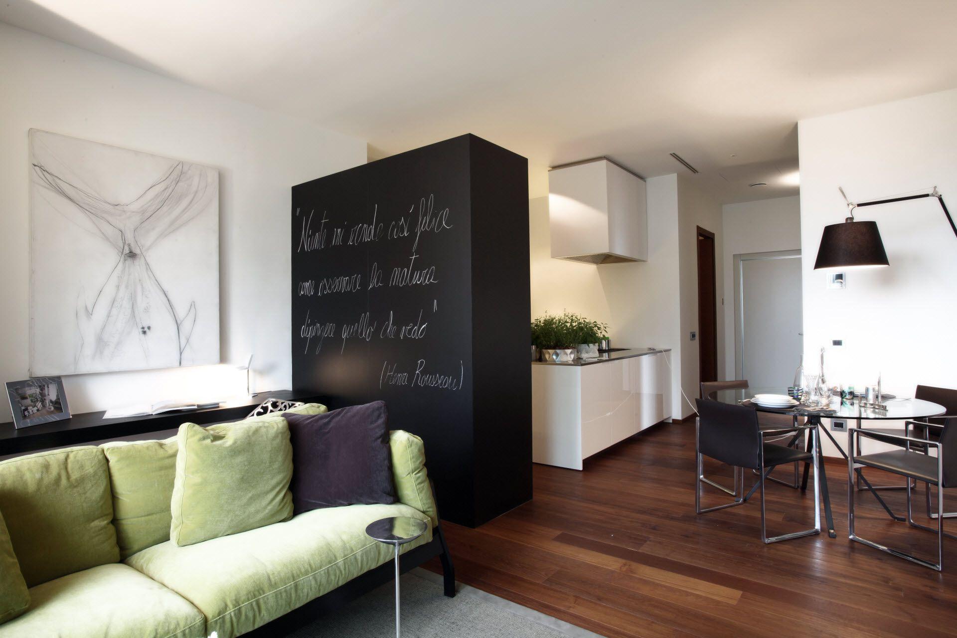 #Vimar bosco verticale, mini appartamento con apparecchiature elettriche della serie Eikon Evo