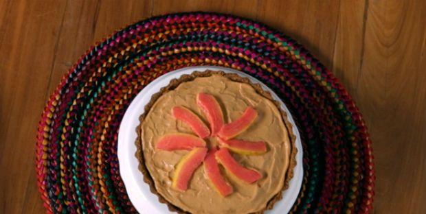 Torta mousse de goiaba: receita de Bela Gil  Eu já fiz e nós amamos aqui em casa.