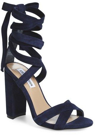 402139cc2 Steve Madden Women's 'Christey' Wraparound Ankle Tie Sandal - ShopStyle