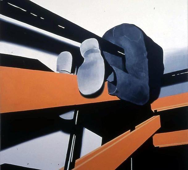 Contemporary Art Blog | Wilhelm Sasnal, Adam, 2001