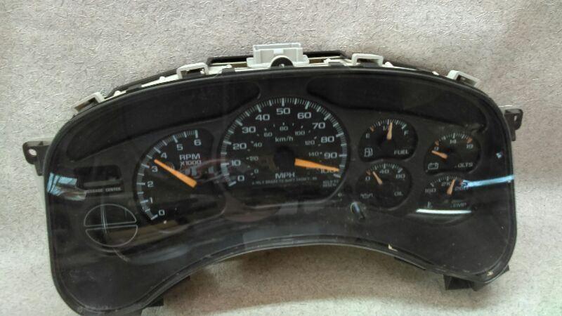 Speedometer Instrument Cluster 15758075 Fits 00 02 Gmc Sierra 1500