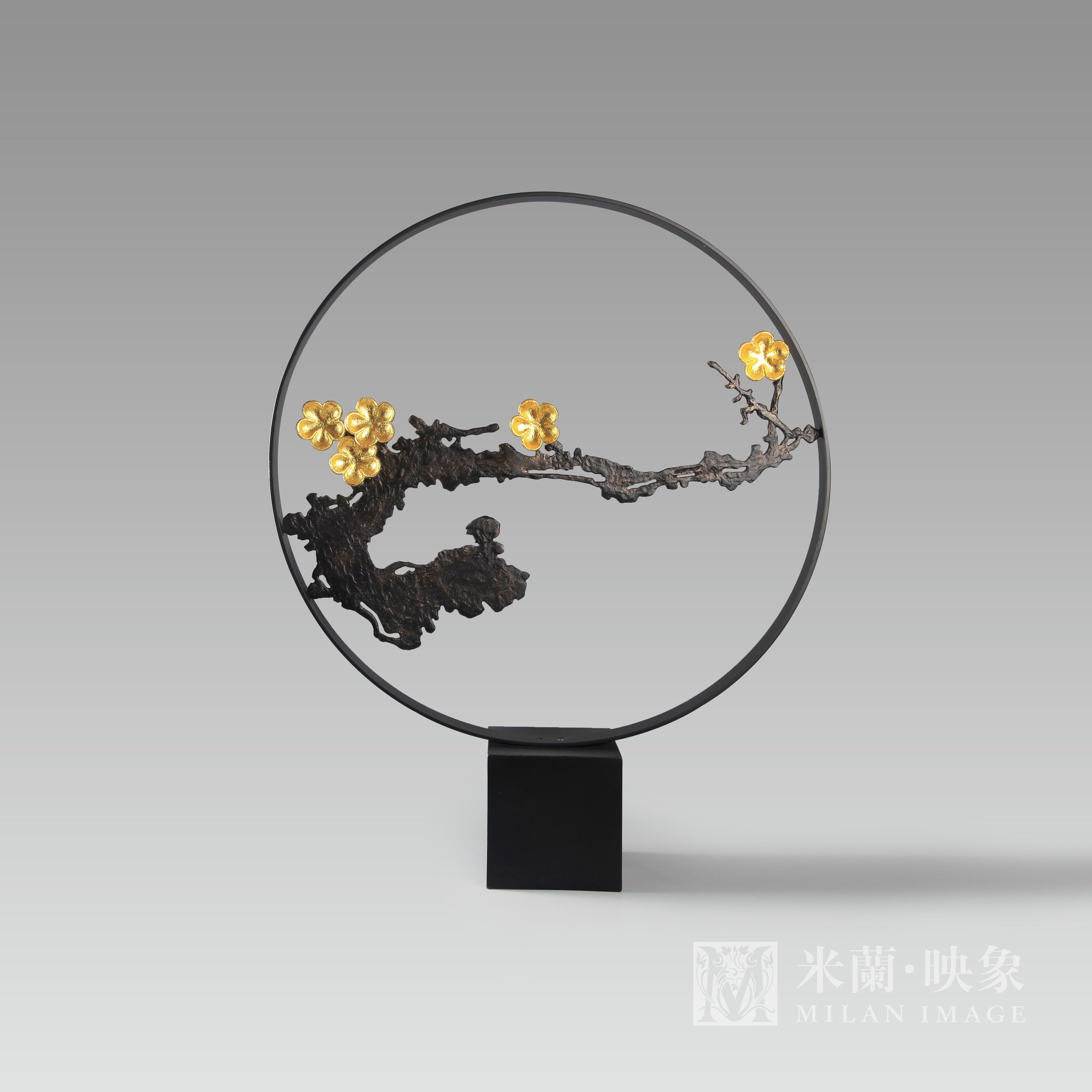 Luxurious Zen Resort: Transparent Acrylic Metal Screen Luxury Zen Style