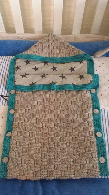 Basket Weave Crochet Pattern Baby Blanket Crafts Pinterest