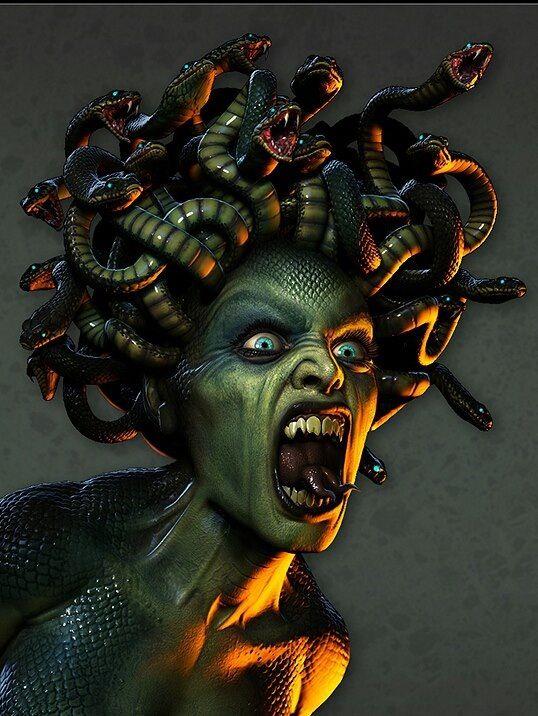 Medusa Through the eyes of the Gorgon (Medusa Series Book 1)