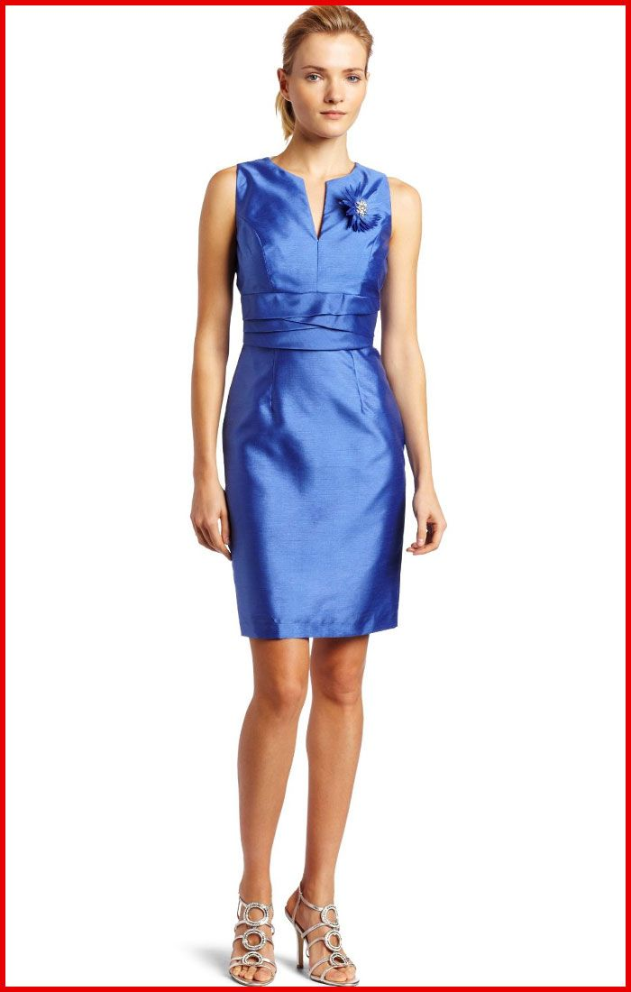 Grad 10 11 Jax Bewitching Sleeveless Blue Cocktail Dress