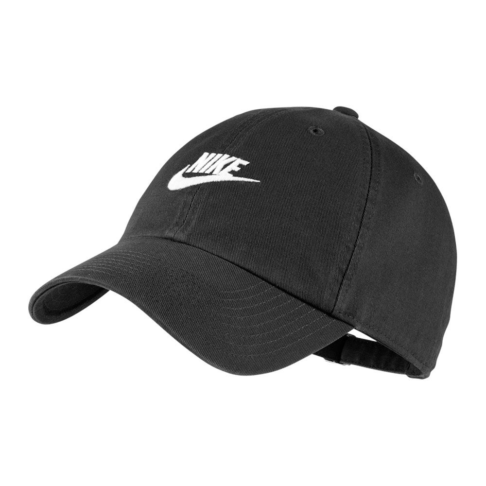 Boné Nike Aba Curva U Nsw H86 Futura Washed - Preto e