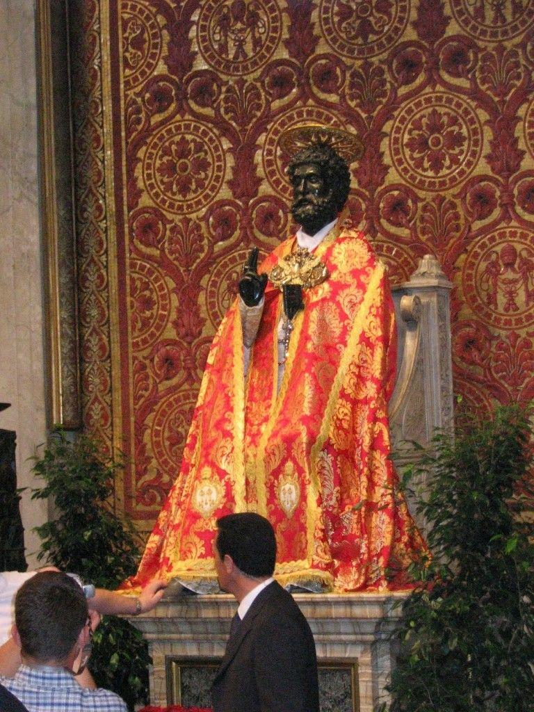 The Icon of Muurish Apostle of Christ St Peter Black
