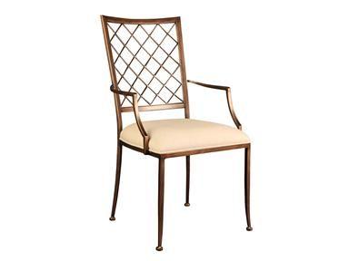 Artistica Quadrille Arm Chair 481 010 Upholstered Arm Chair