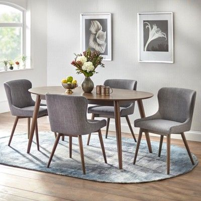 Set of 2 Seguro Dining Chairs Gray  Buylateral is part of Dining chairs - Find product information, ratings and reviews for Set of 2 Seguro Dining Chairs Gray  Buylateral online on Target com