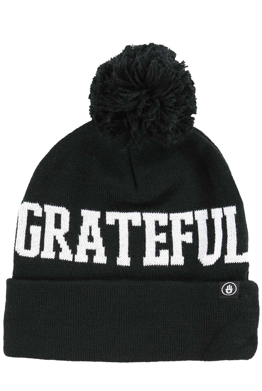 8391cb588cb Keep yourself cozy with the Spiritual Gangster Grateful Pom Beanie.