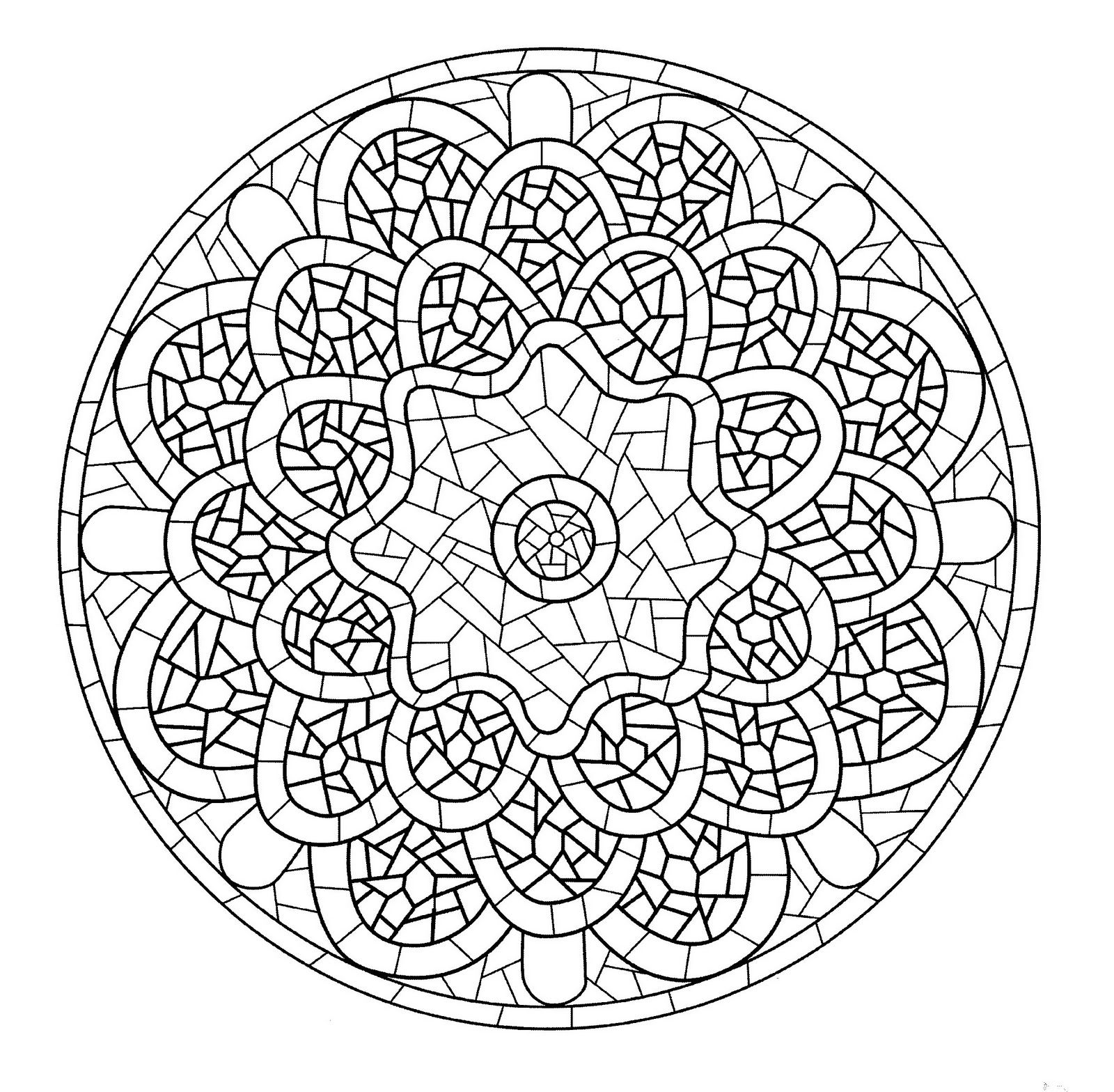 In these pages you will find our Mandalas coloring pages made to