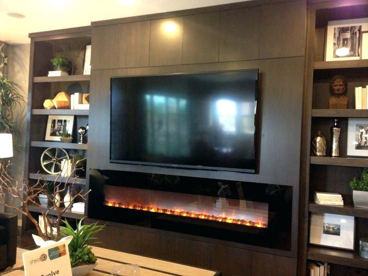 Entertainment Center With Built In Fireplace Built In Wall Drywall