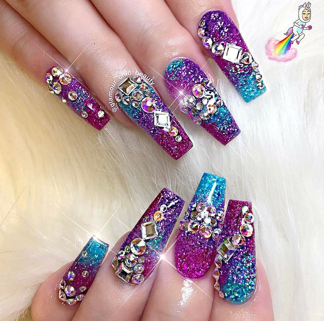 Pin by Tina So\'Hazardous on ♢•DeMcLaWz•♢ | Pinterest | Dope nails ...