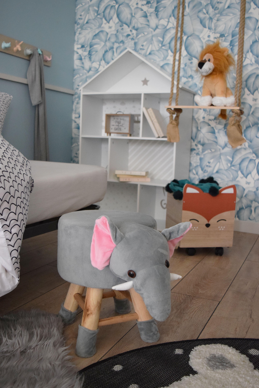 Tabouret éléphant  Deco chambre enfant, Deco chambre et Chambre
