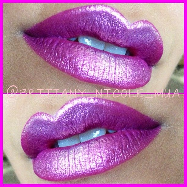 brittany_nicole_mua gorgeous violet lips