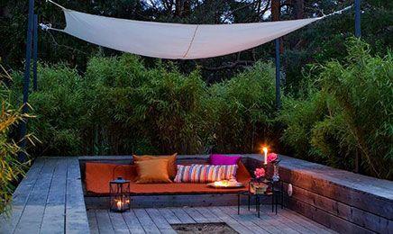 Gut bekannt Schöne gemütliche Ecke in einem großen Garten | garten YQ85