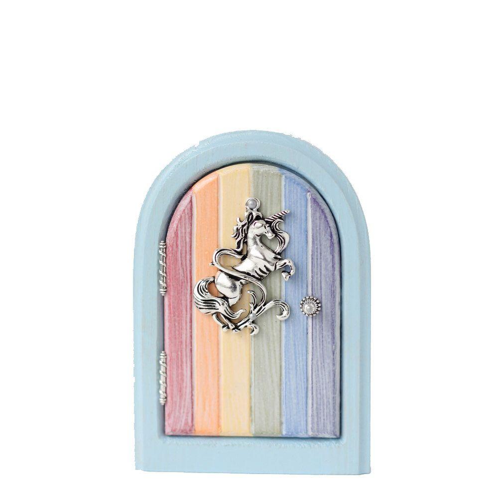 Rainbow Fairy Door for Home and Garden | Rainbow fairies, Fairy ...