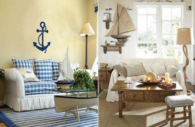 Arredare casa in stile marinaro - Idee arredamento stile marino