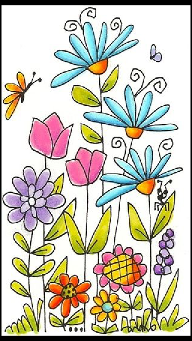 Pin by amie s on art lesson ideas pinterest doodles journal and draw leaves and flowers with permanent sharpie and color in with watercolor pencils then carefully go over the watercolor areas with a wet brush mightylinksfo