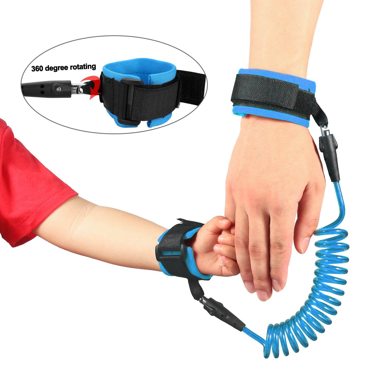 Babies /& Kids Blue Toddler Harness Walking Leash Anti Lost Wrist Link Safety Wrist Link for Toddlers