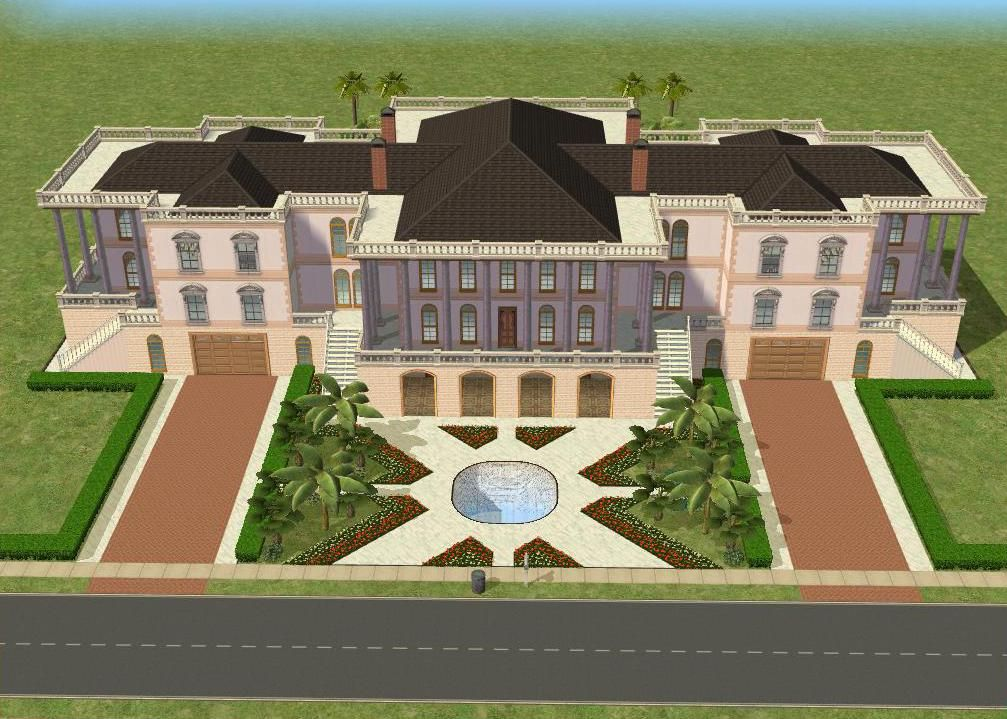 Sims 2 house plans mansion images for Sims house plans