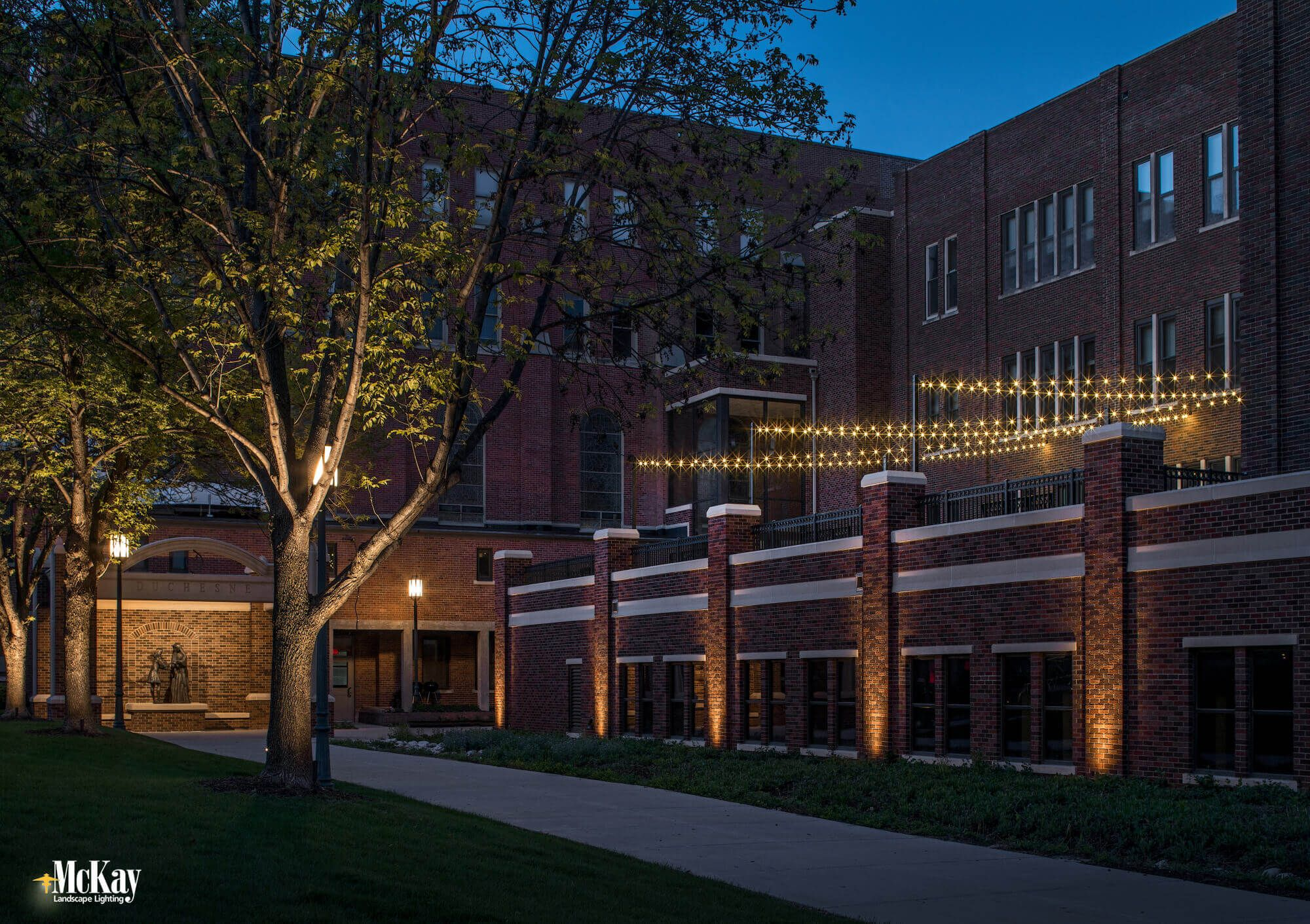 School campus courtyard lighting click to see more of the