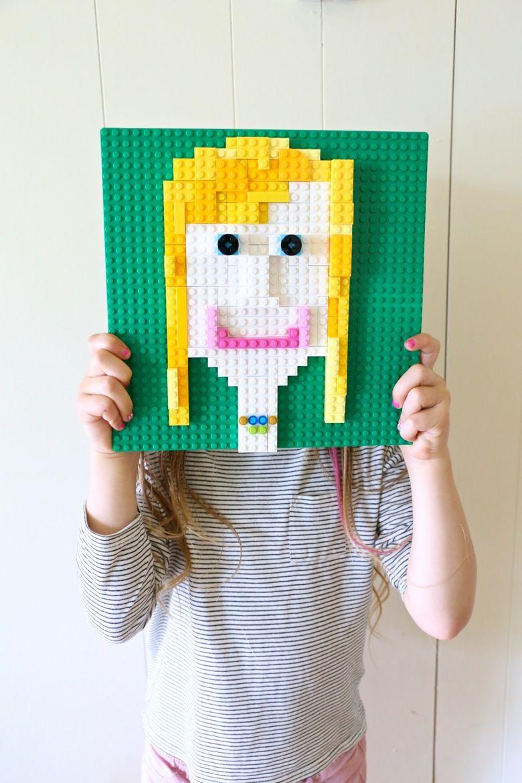 LEGO Self-Portraits   Fun and play   Self portrait art