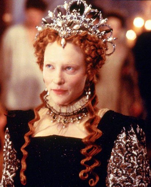 cate blanchett as queen elizabeth 1 in elizabeth 1998
