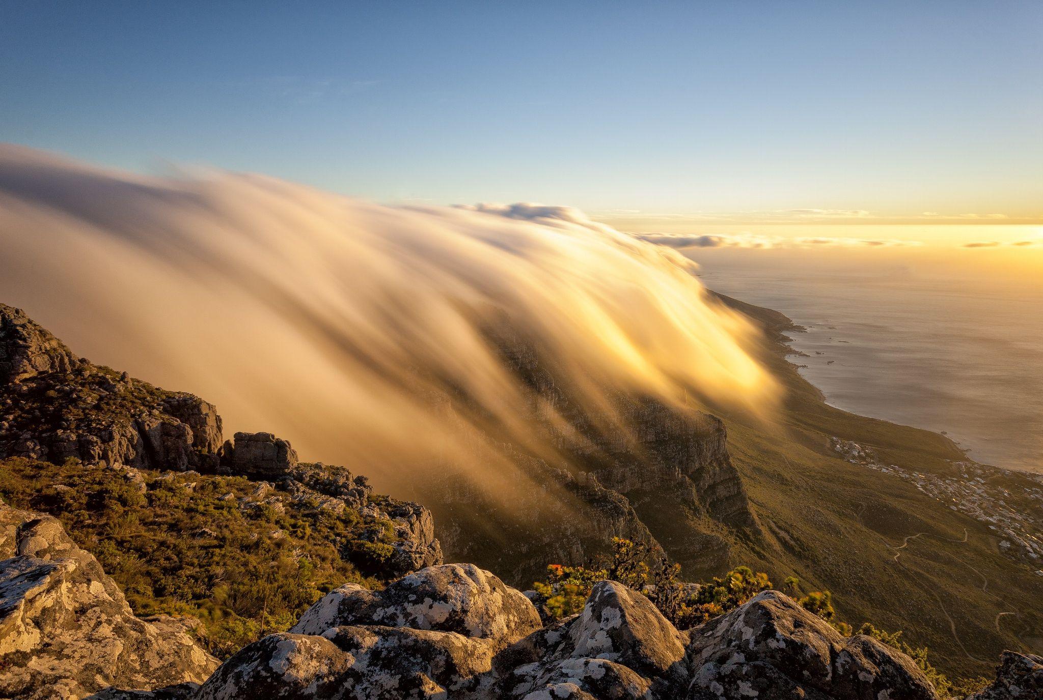 Golden Cloud River by PJ van Schalkwyk on 500px
