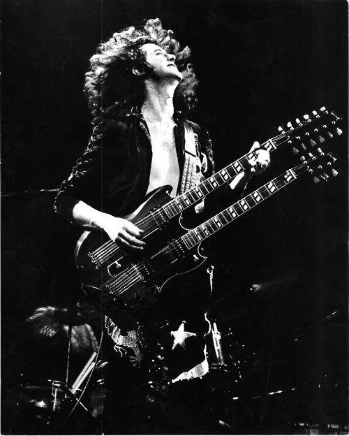 Jimmy Page En Led Zeppelin Jimmy Page Buena Musica