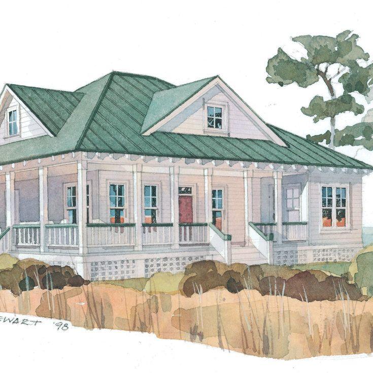 Inlet Retreat Top 25 House Plans Coastal Living Coastal House Plans Coastal Cottage Beach House Flooring