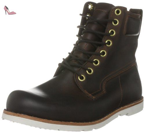 Boots timberland marron ek rugwp 6 ptb chaussures homme