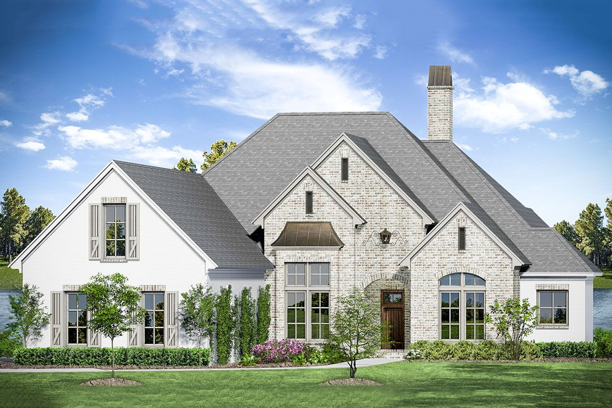 Plan 510116WDY: 3-Bed French Country House Plan with Bonus ...