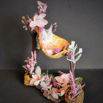 Hammock fairy bed. Fairy garden. fairy furniture, miniaturegardening ...