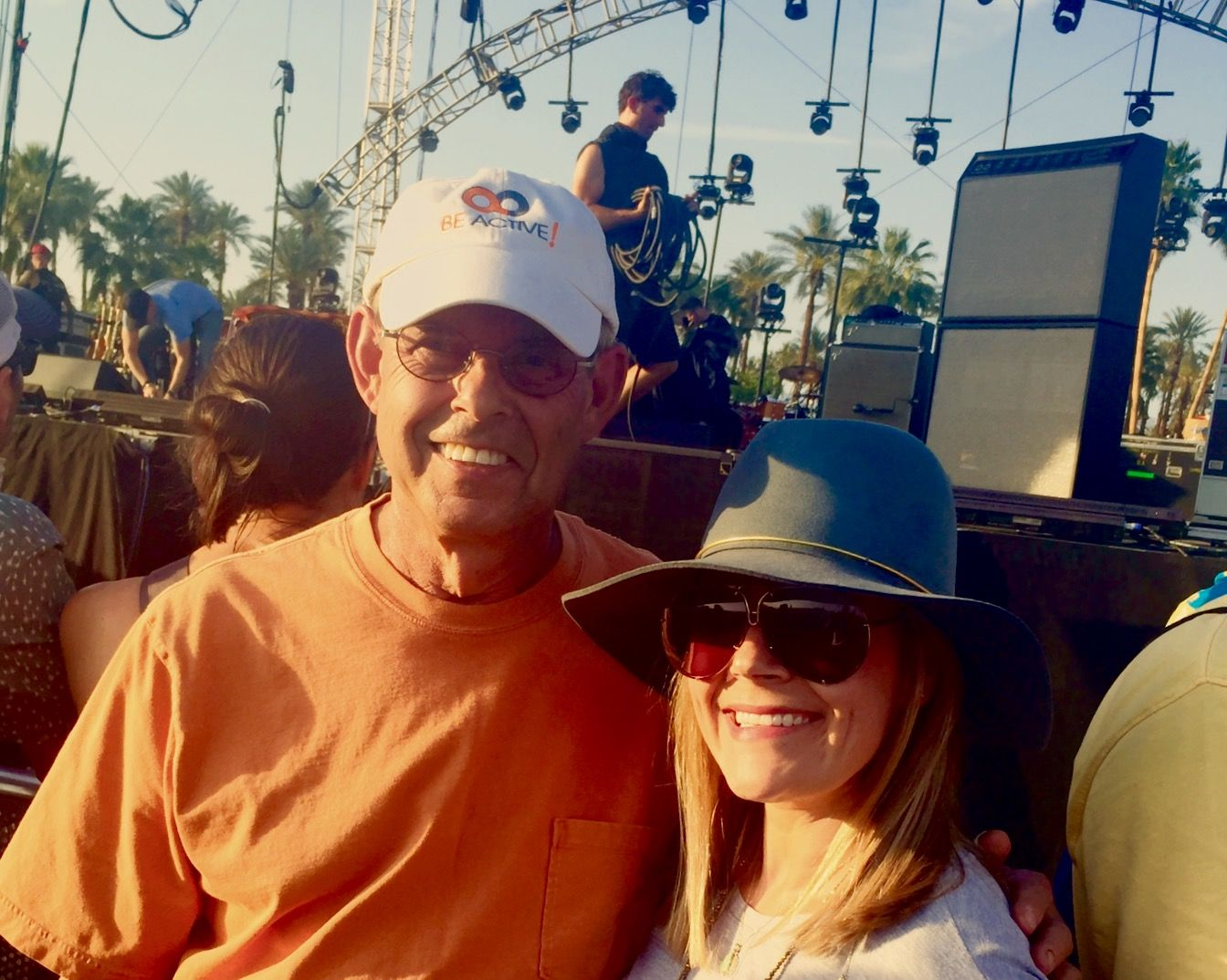 Concert season is here! Dr. Roger Greenberg and his daughter kicked things off this weekend at the Coachella Valley Music and Arts Fest in California ‪#‎BeActive‬