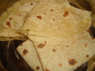 My experiments with cooking: Roomali Roti