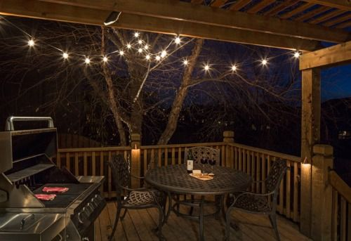 Unique Deck Lights Adding Flair To Your With Festoon Lighting
