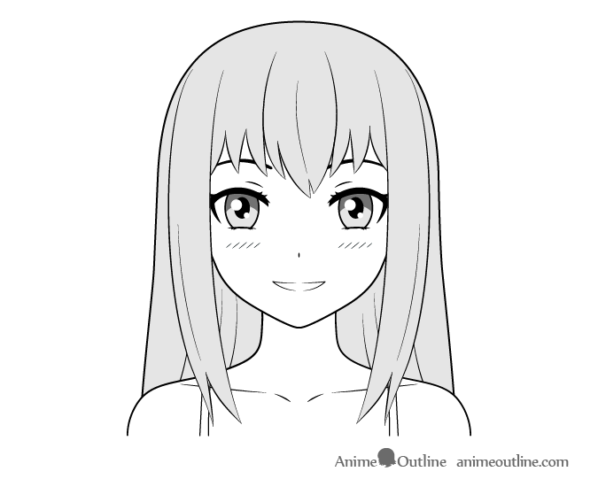 How To Draw Anime Characters Tutorial Animeoutline Anime Drawings Anime Character Drawing Anime Eye Drawing