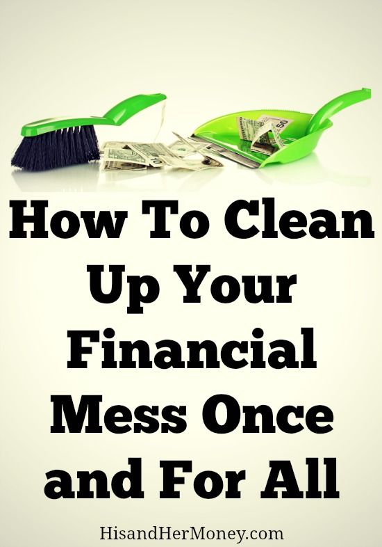 Are you sick and tired of being stuck in the same financial mess that you've been stuck in for years? Here is a plan that will help propel you to finally clean up your financial mess once and for all!