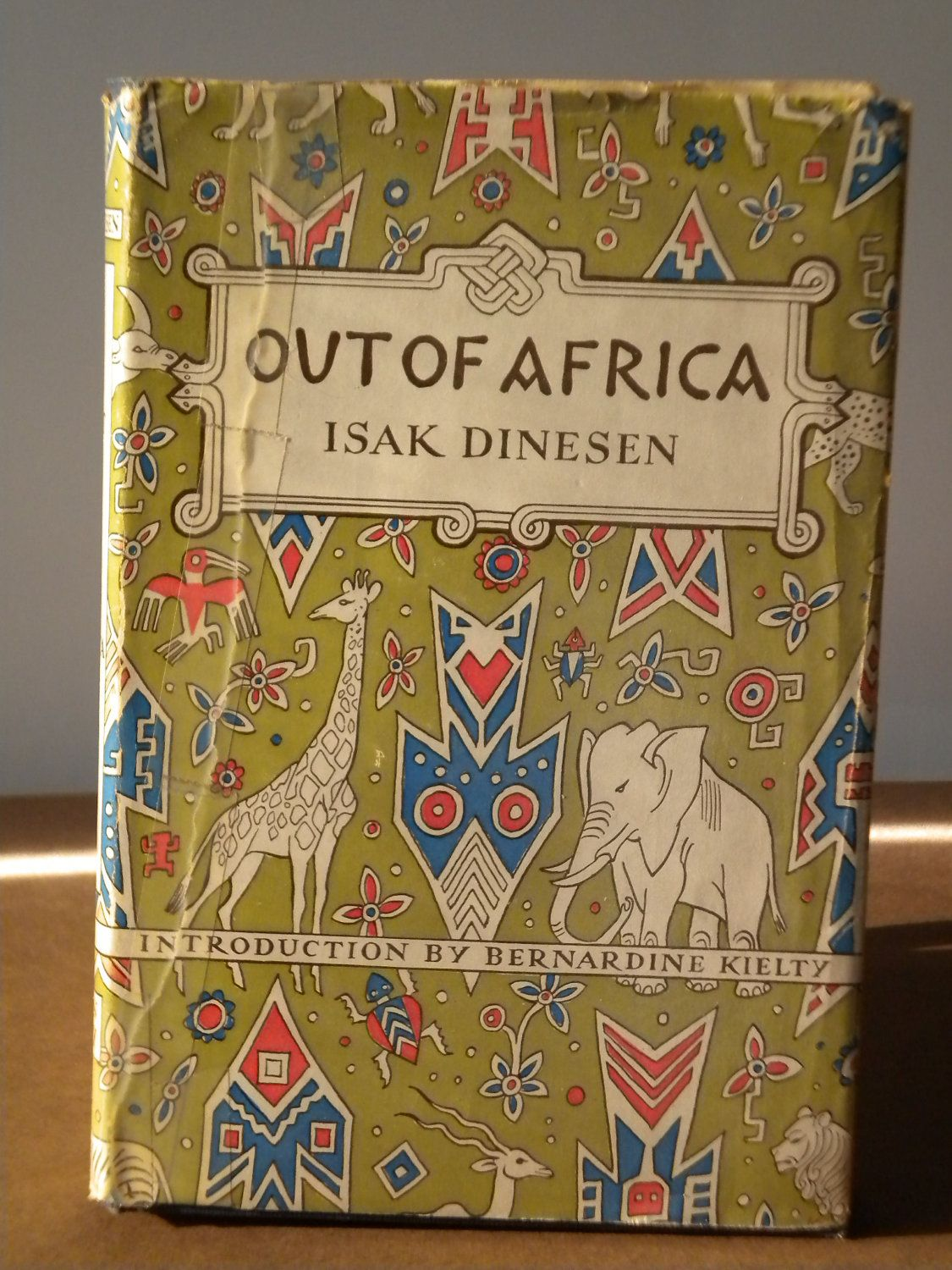 Out of africa by isak dinesen pseud with an introd