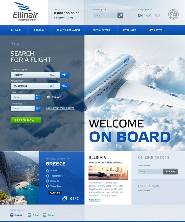 Ellinair Going on holiday, Great vacations, Wordpress