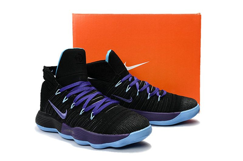 official photos febfa 02f4f Free Shipping Only 69  New Hyperdunk 2017 Flyknit React Black Club Purple  Hyper Jade