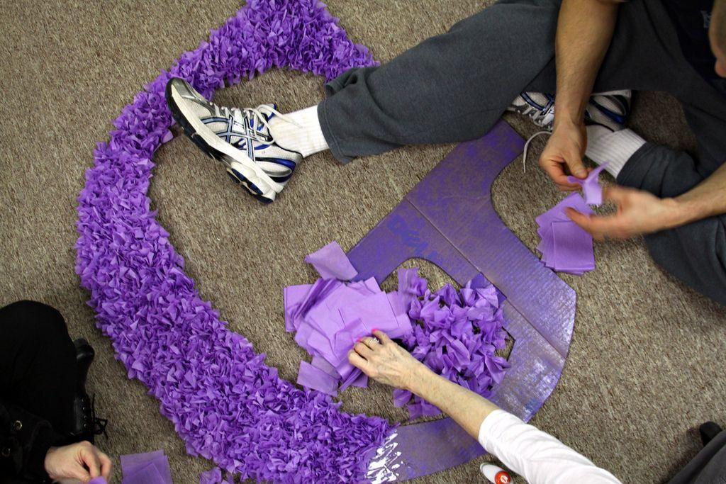 Decorative Tissue Paper Purple