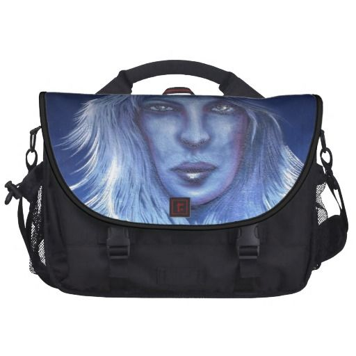 Mysterious Woman Commuter Bag