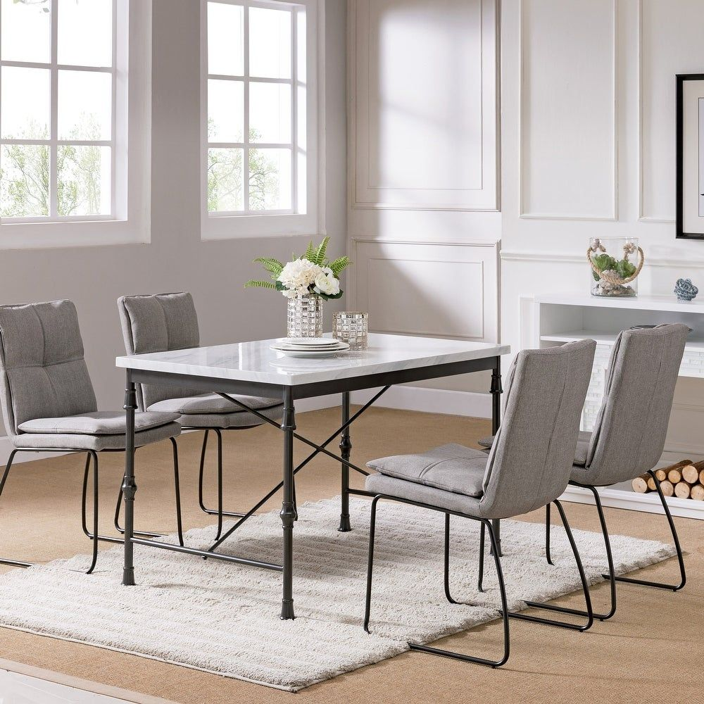 Overstock Com Online Shopping Bedding Furniture Electronics Jewelry Clothing More In 2021 Faux Marble Dining Table Dining Table Marble Modern Dining Table