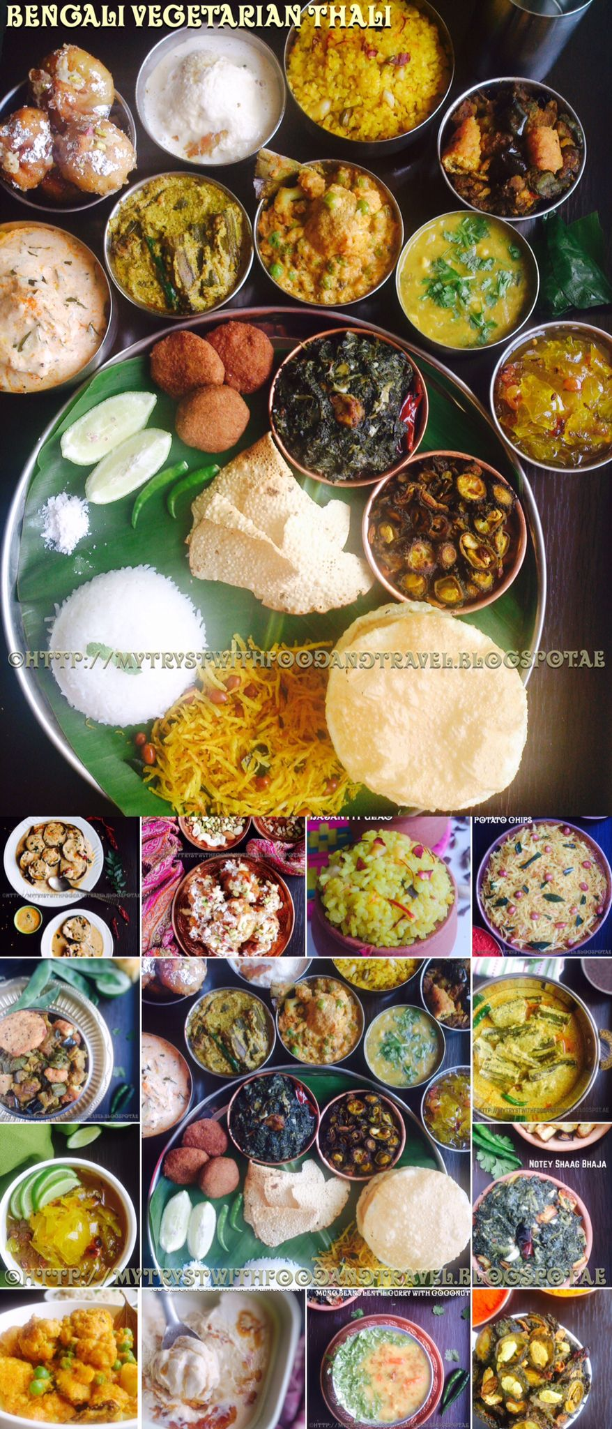 Bengali vegetarian thali recipes pinterest food recipes and bengali vegetarian thali a splash of unassuming nuances and striking flavours forumfinder Image collections