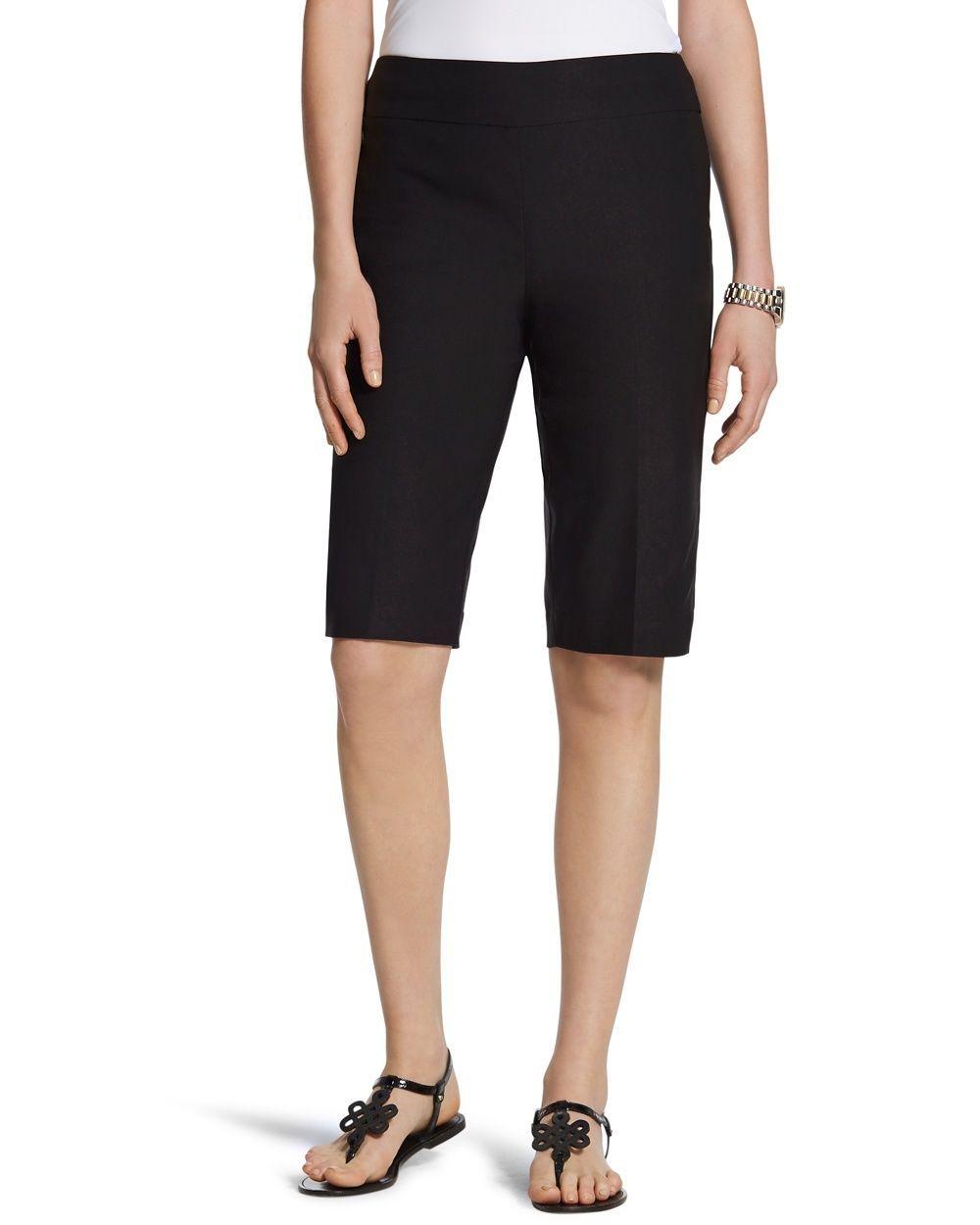 Brigitte shorts in black 11 inch inseam shorts clothes